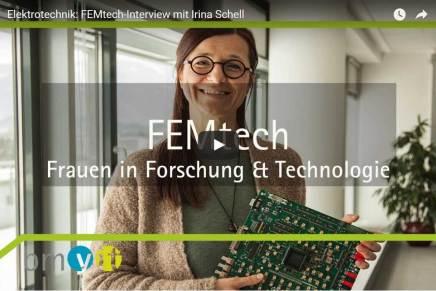 Elektrotechnikerin Irina Schell ist FEMtech-Expertin des Monats Februar