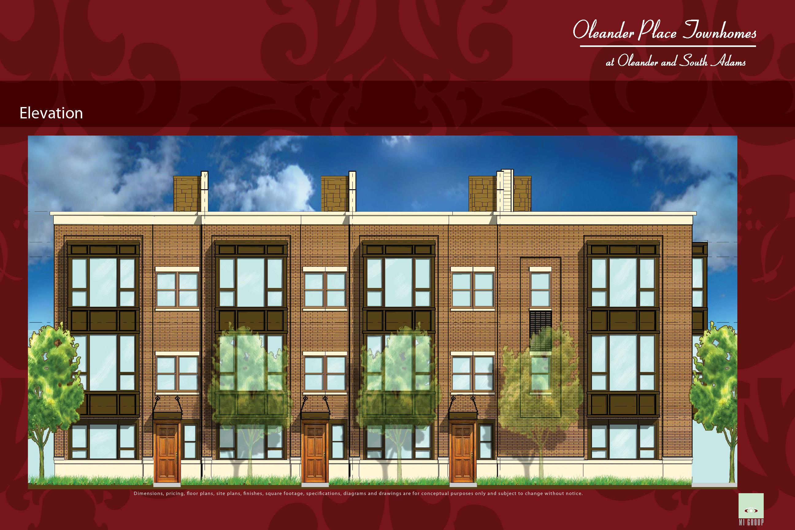 New Oleander Place Townhomes Break Ground  Open Sales