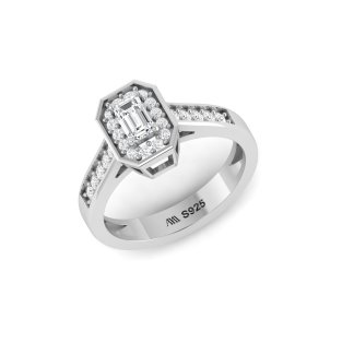 sterling silver royal queen ring