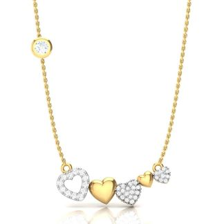 The Flying Hearts Necklace