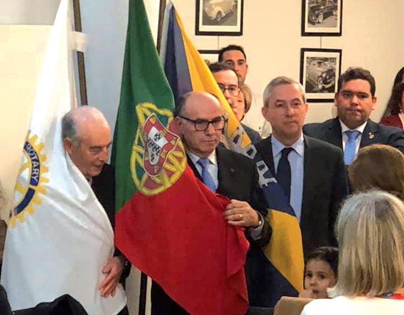 Rotary Club de Ovar homenageia Augusto Arala Chaves