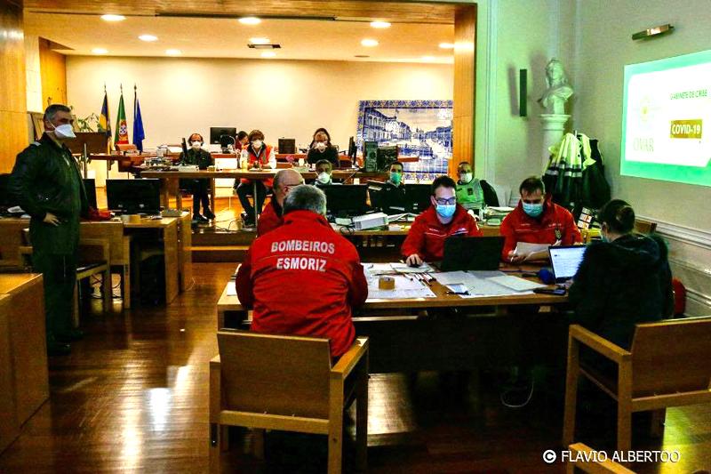 Covid-19: Gabinete de Crise e Plano Municipal de Emergência de Proteção Civil mantêm-se ativos