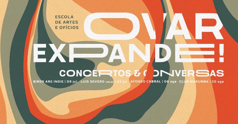 Ovar Expande! Concertos & Conversas: Luís Severo atua na Escola de Artes e Ofícios