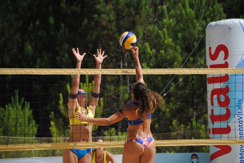 Voleibol de Praia: Duplas Juliana Antunes/Tânia Oliveira e Sebastião Leão/Marcus Borlini venceram primeira etapa do Campeonato Lidl