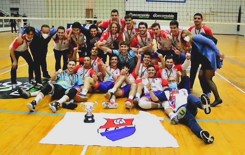 Voleibol: Sub21 do Esmoriz Ginásio sagraram-se campeões nacionais