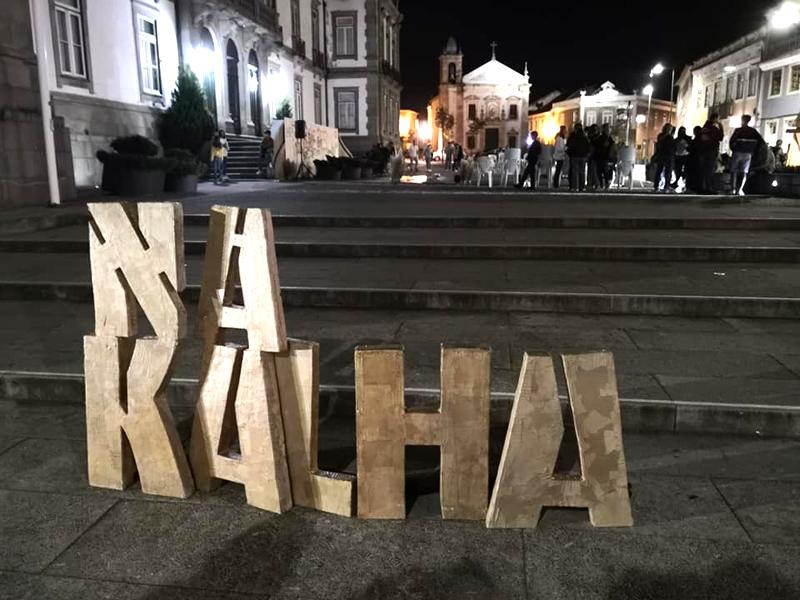 Na Kalha trouxe arte para as ruas de Ovar