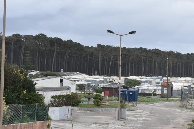 Avanço do mar obriga ao recuo do parque de campismo da Cortegaça