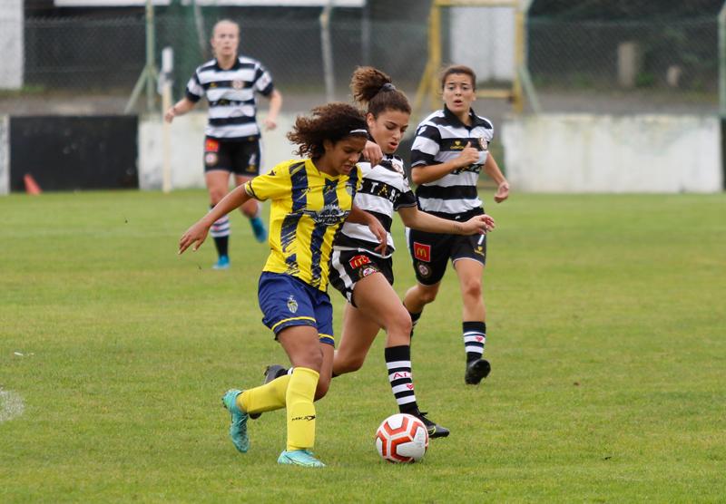 Futebol Feminino: Ovarense arrancou a primeira vitória da temporada