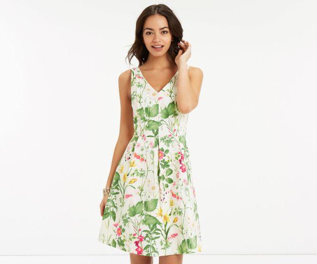 Dresses from Oasis, Monsoon & Zara 3