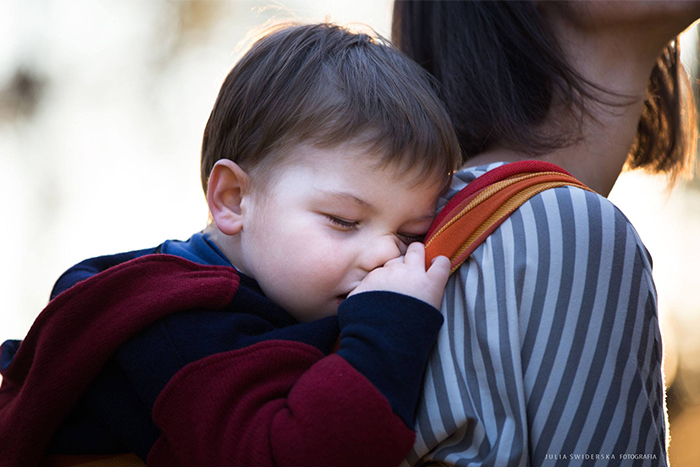 chusty Storchenwiege do noszenia dzieci