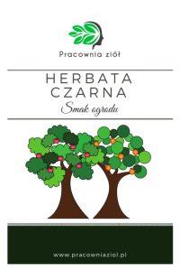 Herbata czarna smak ogrodu