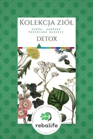 zioła na oczyszczenie organizmu detox etykiety, mieszanki ziołowe, rebalife Karta produktu Pracownia ziół i zdrowej żywności Rebalife-40