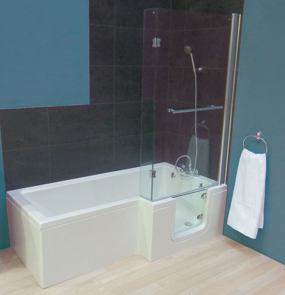 Sabre easy access shower bath  only 1670 from Practical