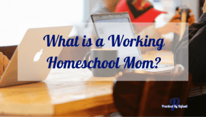 What is a Working Homeschool Mom?