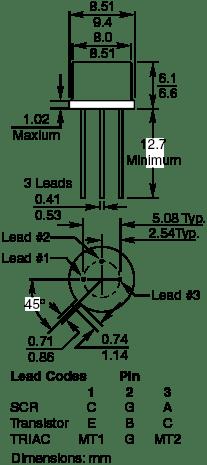 Through-Hole Transistors (TO)