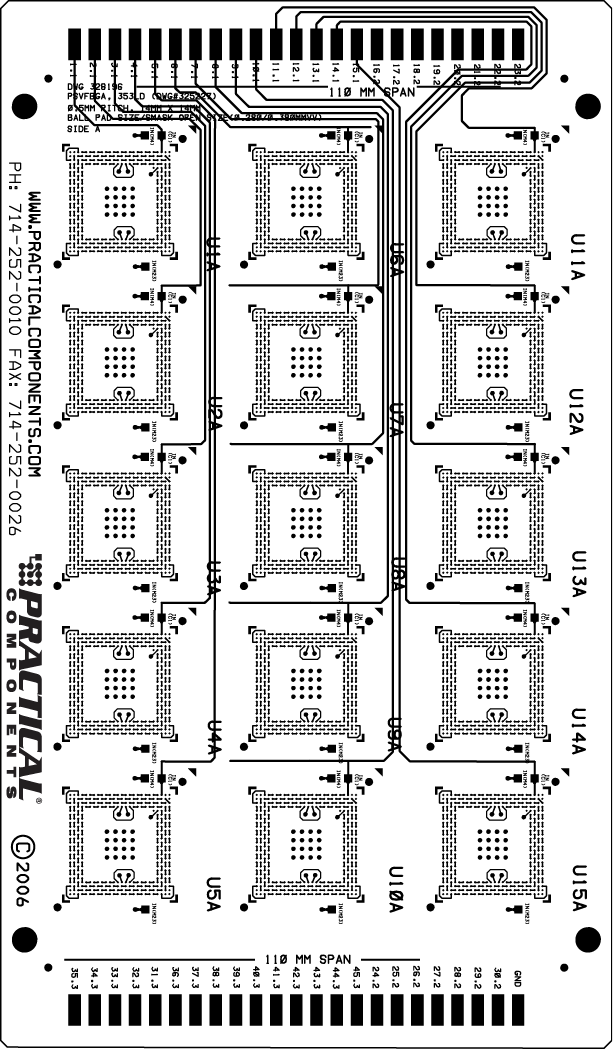 PCB Boards, Test Vehicle, Process Evaluation Kits