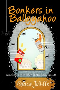 Bonkers in Ballyyahoo book cover illustrating an article about how to write for children
