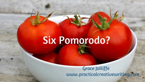 Six tomatoes In White Bowl illustrating an article about the pomerado technique