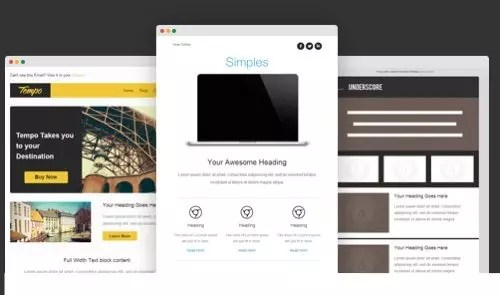 28 Free Responsive Email Templates Email Blast Templates