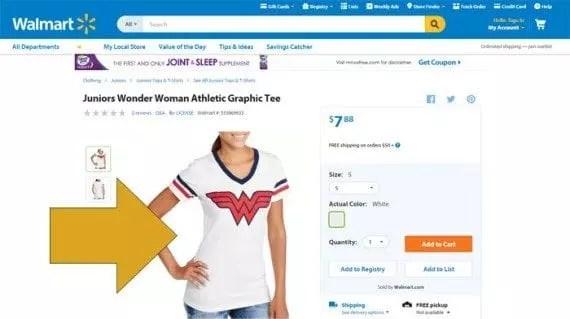 Walmart si dedica efficacemente ad ottimizzare le immagini per l'ecommerce