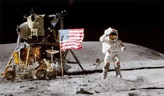 NASA put men on the moon in 1969 and may do it again by 2023. <em>Photo: NASA.</em>