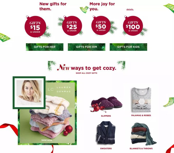 Kohl's Holiday Gift Guide covers all the bases