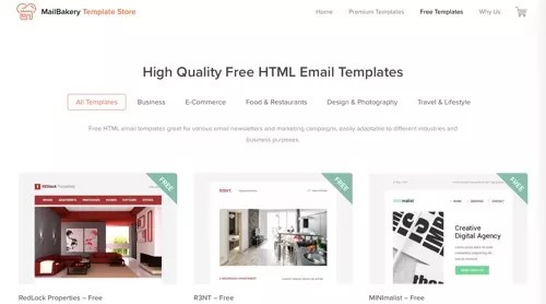 When i was done and ready to add it to an email and send it i … 275 Free Responsive Email Templates Practical Ecommerce