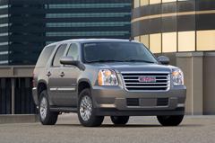 2010 GMC Yukon Hybrid Courtesy General Motors