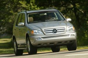 Mercedes ML-350 courtesy Mercedes Benz