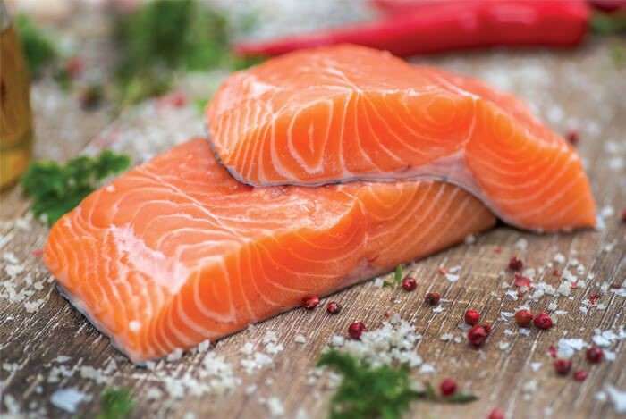 Eat fatty fish and prevent belly fat
