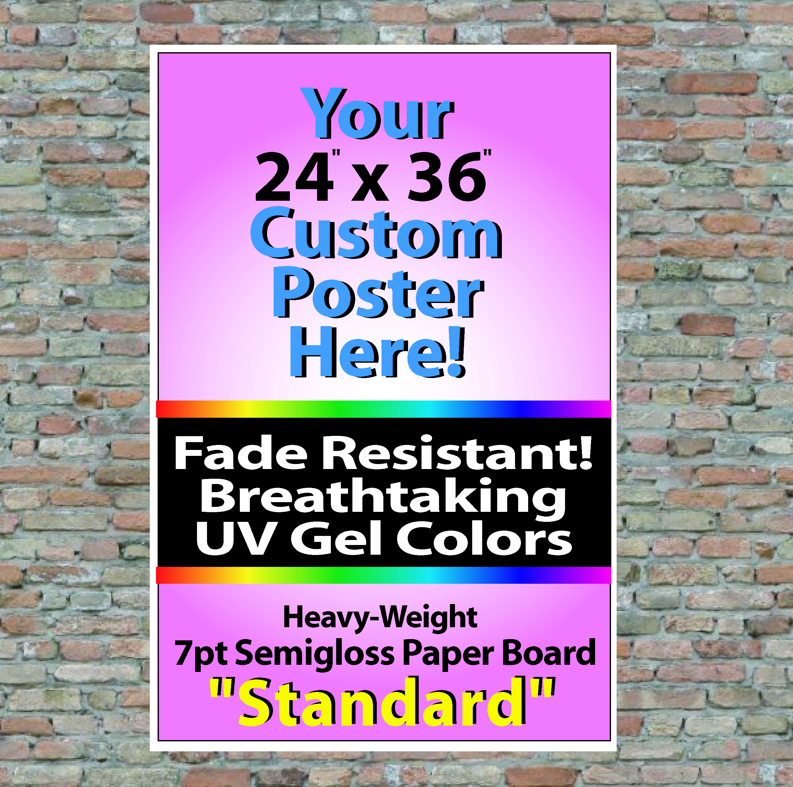 24 x 36 wall posters practical image