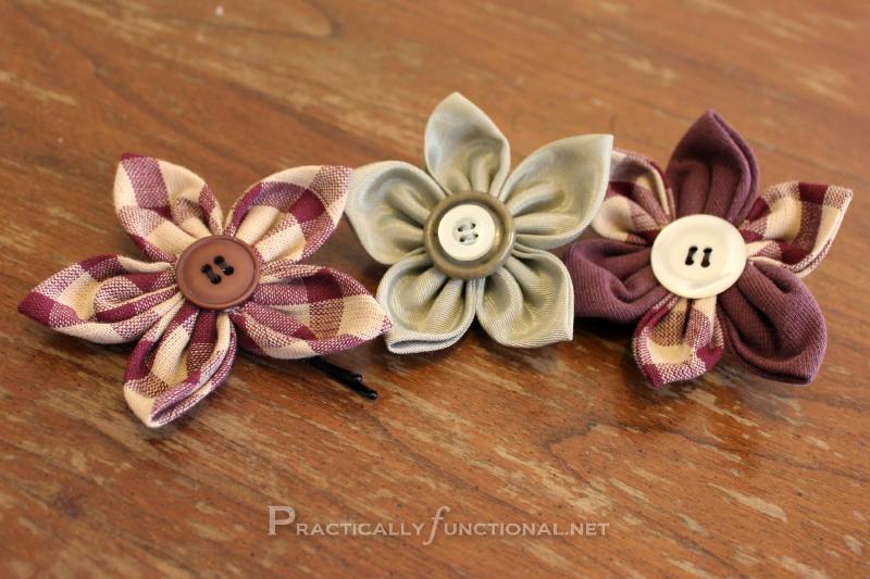 Fun Fabric Flowers