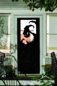 DIY Vinyl Halloween Door Decorations
