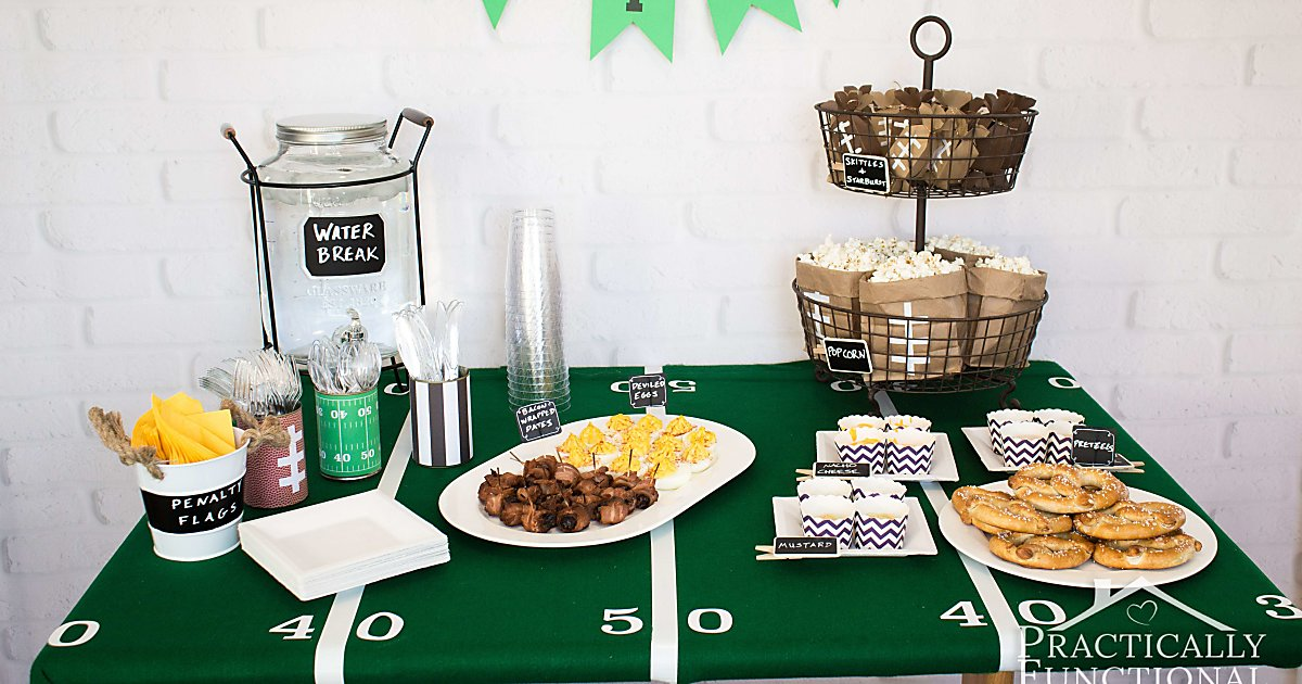 Football Party Ideas Food Decorations Amp More
