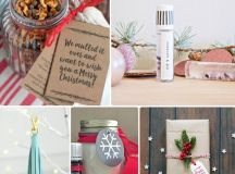 Handmade holiday gift ideas using Young Living Essential Oils