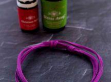 5 minute diy essential oil diffuser bracelet