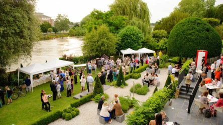 7 surprising venues with outdoor space that you need to know about