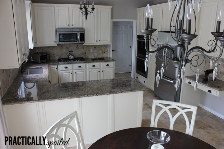 Polyurethane Over Latex Paint Kitchen Cabinets
