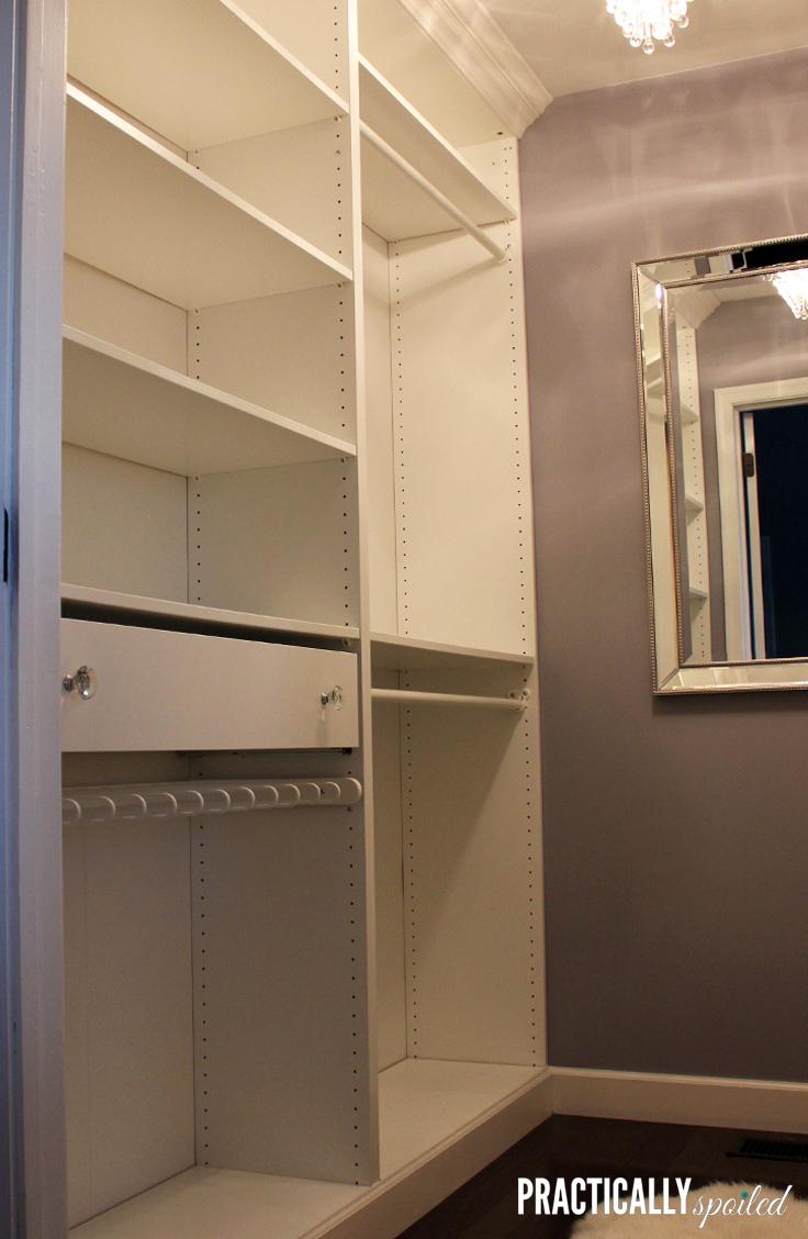 Mastering The Closet An Ikea Pax Hack