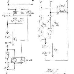 Motor Wiring Diagram Single Phase Manual Transfer Switch Single-phase Power For Motor-generator 10ees
