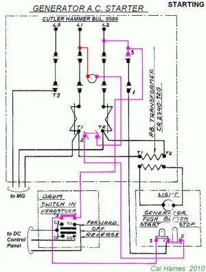 10EE MG Starter Circuit with CutlerHammer Contactor  Revised