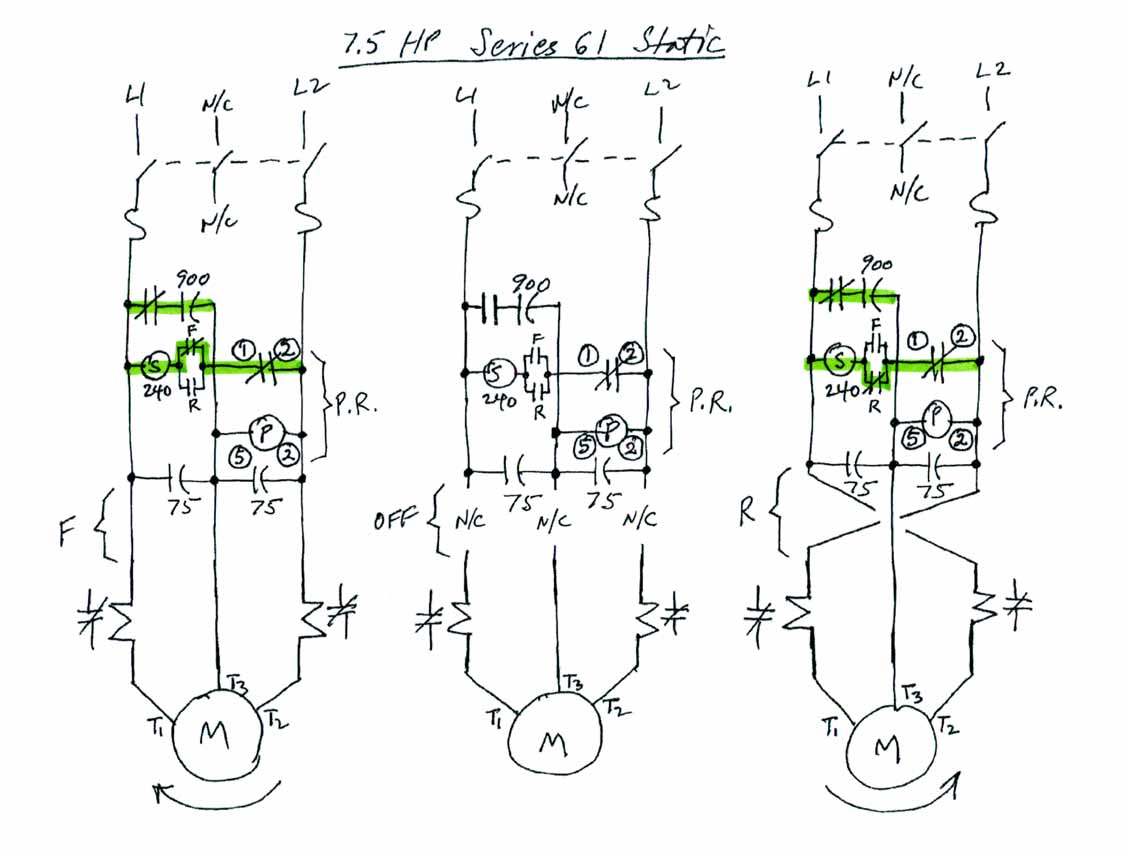 Series 61 7 5 Hp Static Conversion