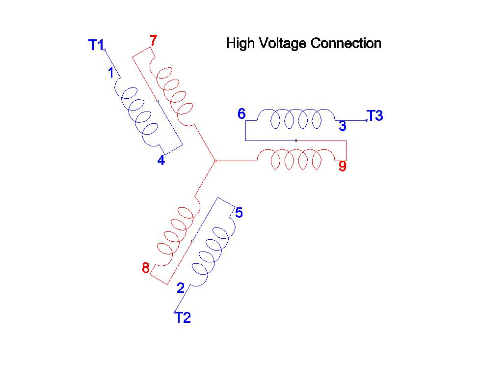 3 Phase Motor Wiring Diagram 9 Wire Monarch 10ee Motor Generator Troubleshooting Page 5
