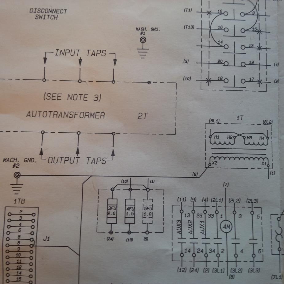 Schematic Diagram Of A Transformer