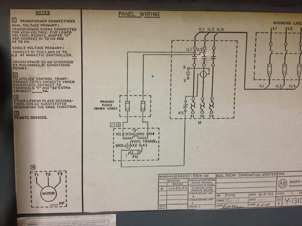 vfd control wiring diagram cherokee radio do i need to rewire this grinder make it run on 208v from 480v setup?