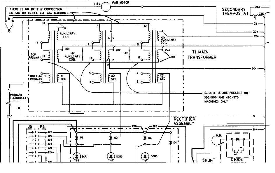 lincoln sae welder wiring diagram