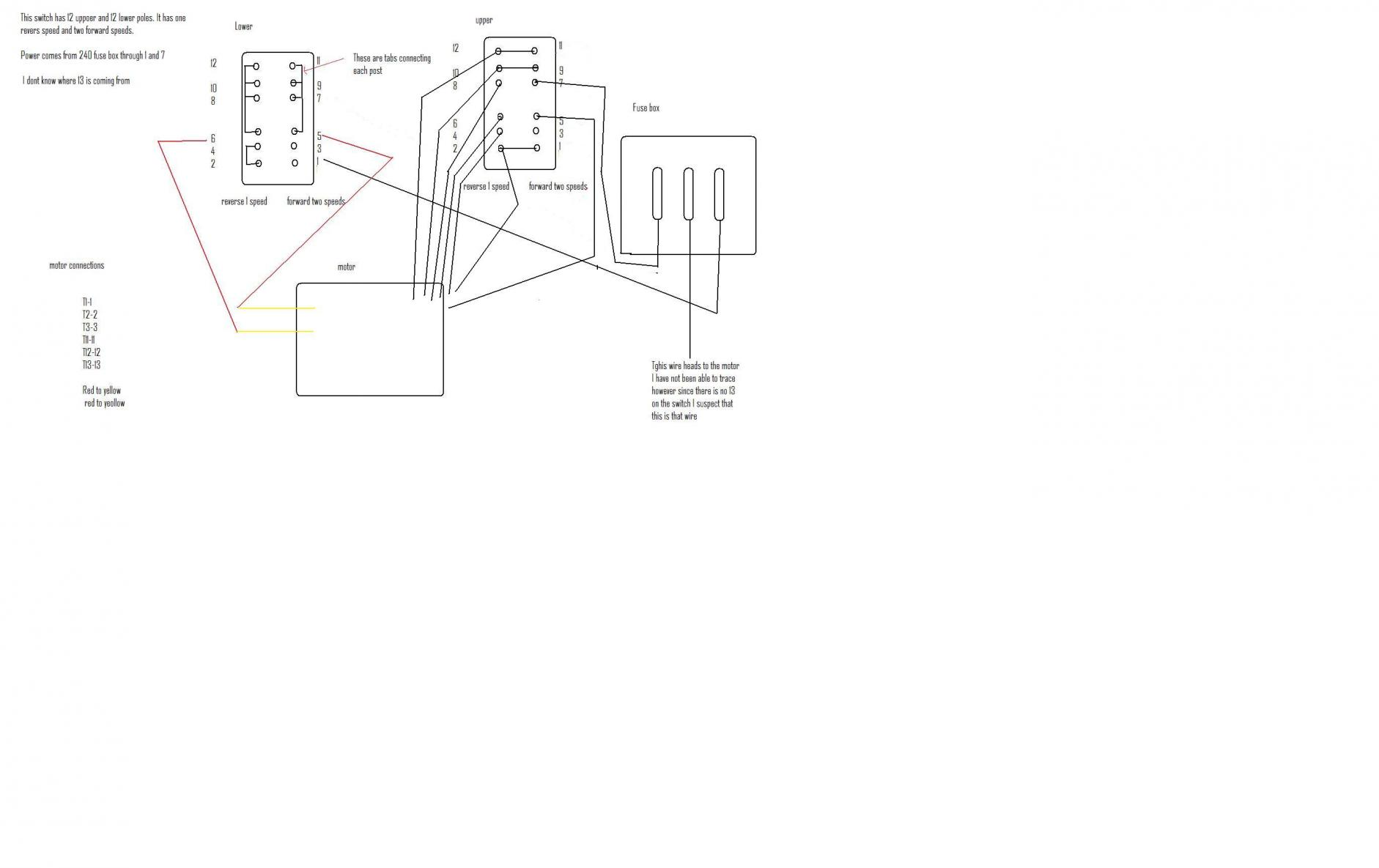 three phase converter wiring diagram sony car using pony motor and capacitor