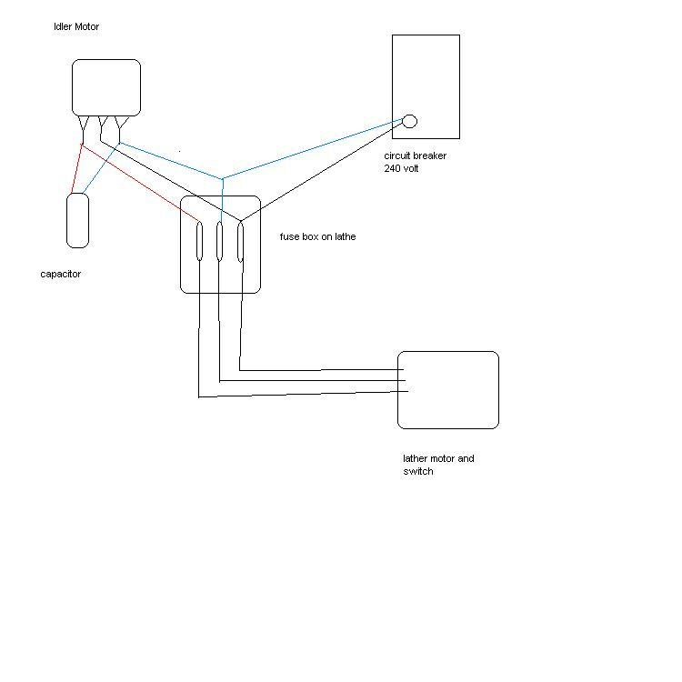 motor run capacitor wiring
