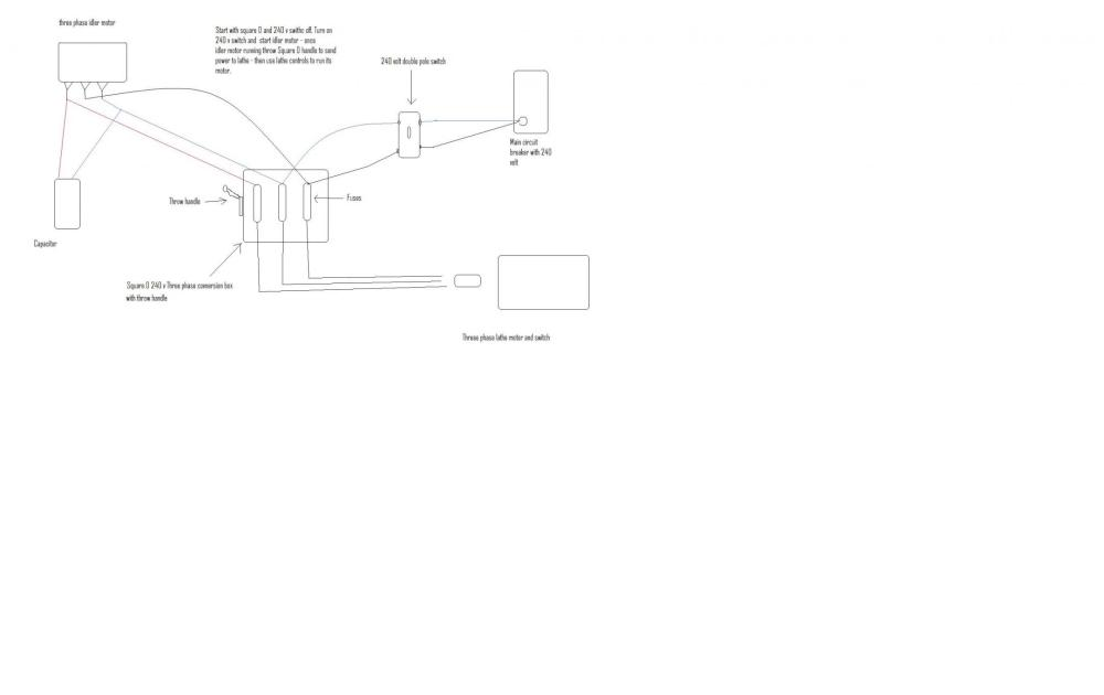 medium resolution of homemade rotary phase converter wiring diagram