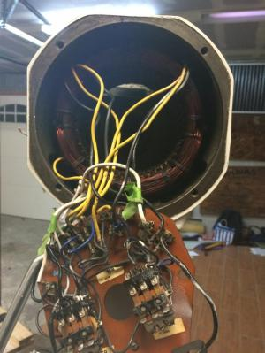 Help with Hobart mixer 115v 1ph, 13hp 60hz motor